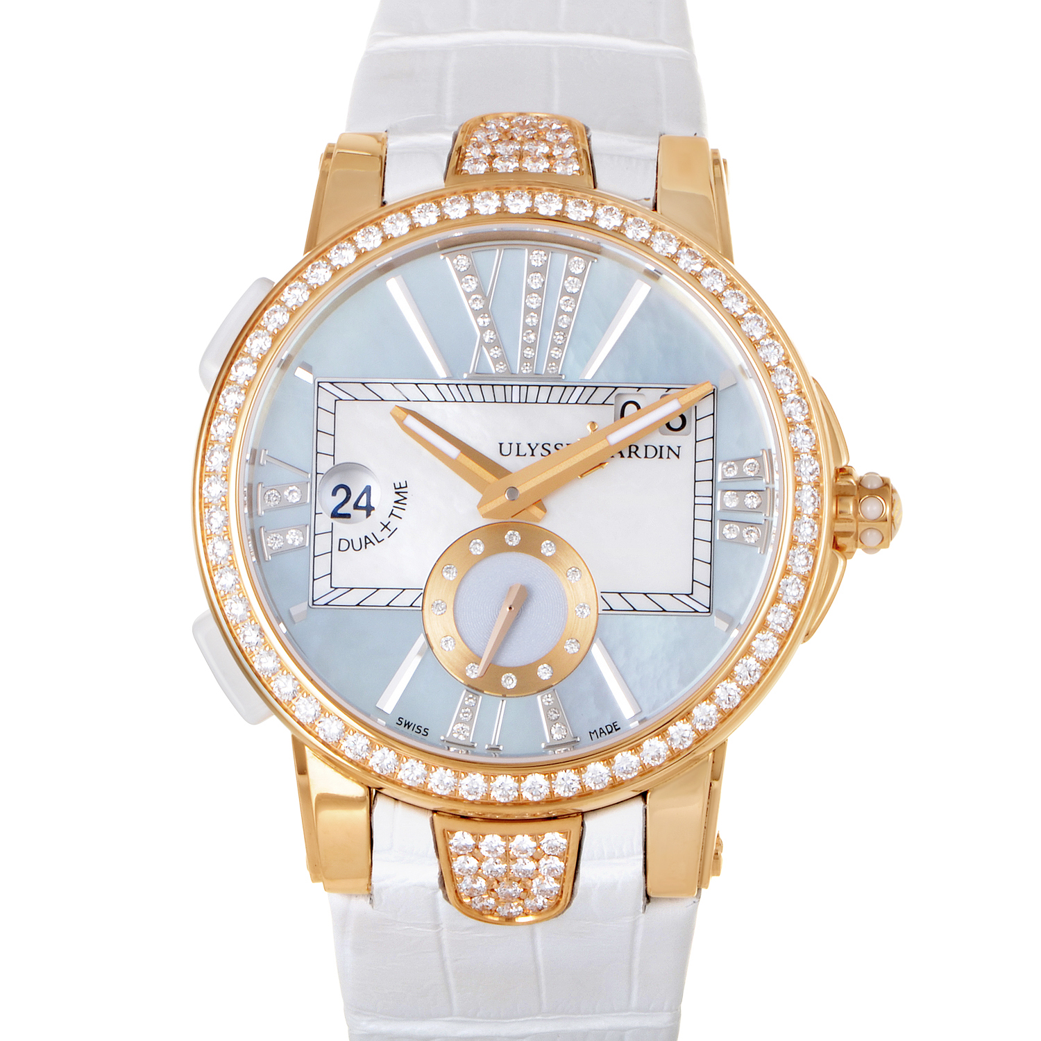 Executive Dual Time Ladies 40mm 246-10B/392