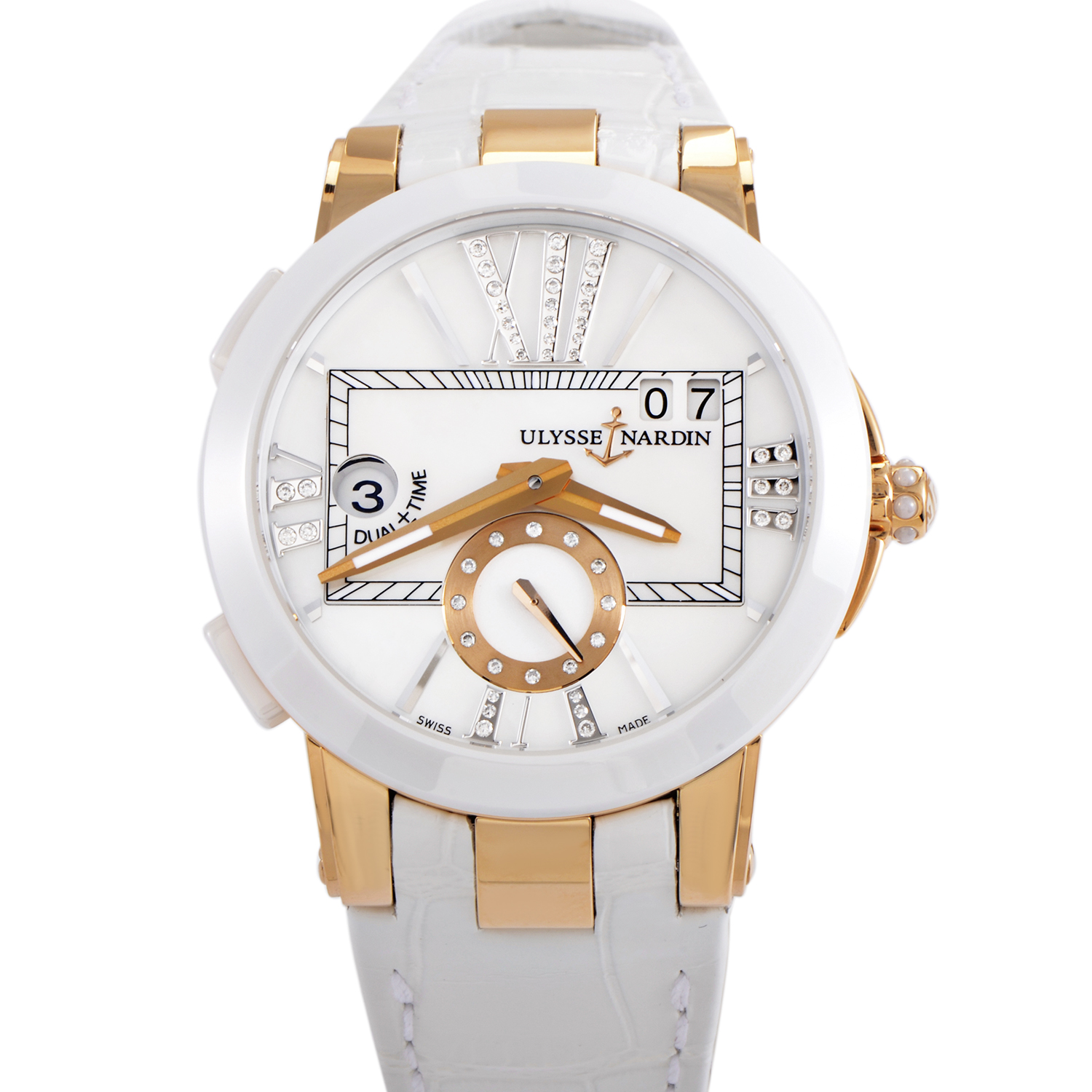 Executive Dual Time Ladies 40mm 246-10/391