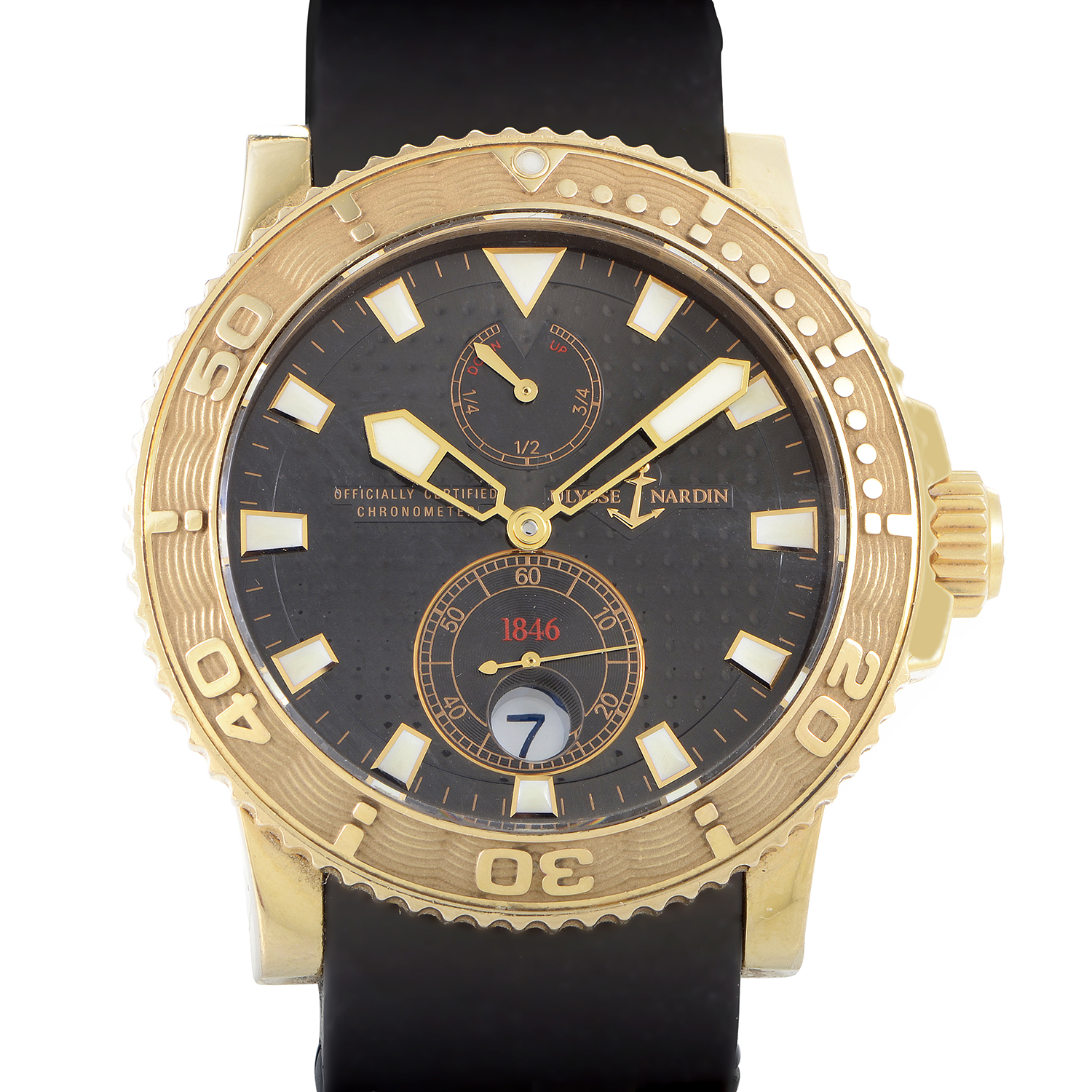 Maxi Marine Diver Chronometer 42.7mm 266-33-3A/925