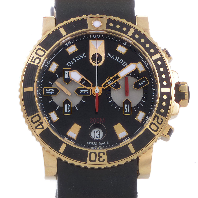 Maxi Marine Diver Chronograph 42.7mm 8006-102-3A/92