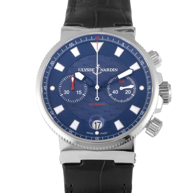 Maxi Marine Blue Seal Chronograph 41mm 353-68LE