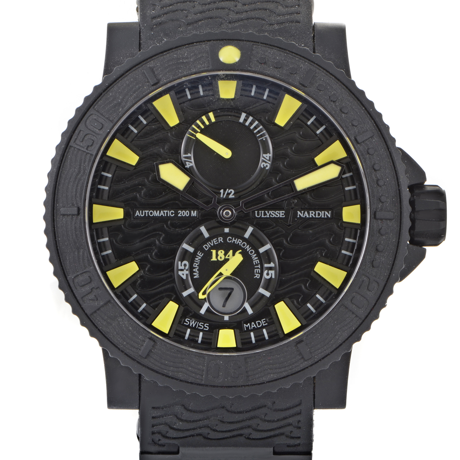 Marine Diver Black Sea Chronometer 45.8mm 263-92-3C/924