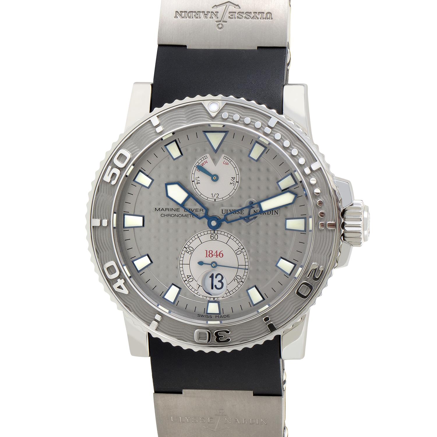 Maxi Marine Diver Men's Automatic Watch 42.7mm 263-33-3/91
