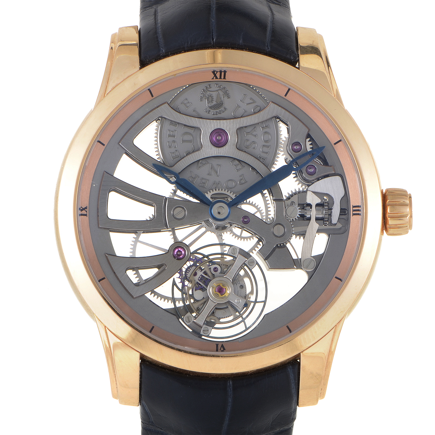 Skeleton Tourbillon Manufacture 1702-129