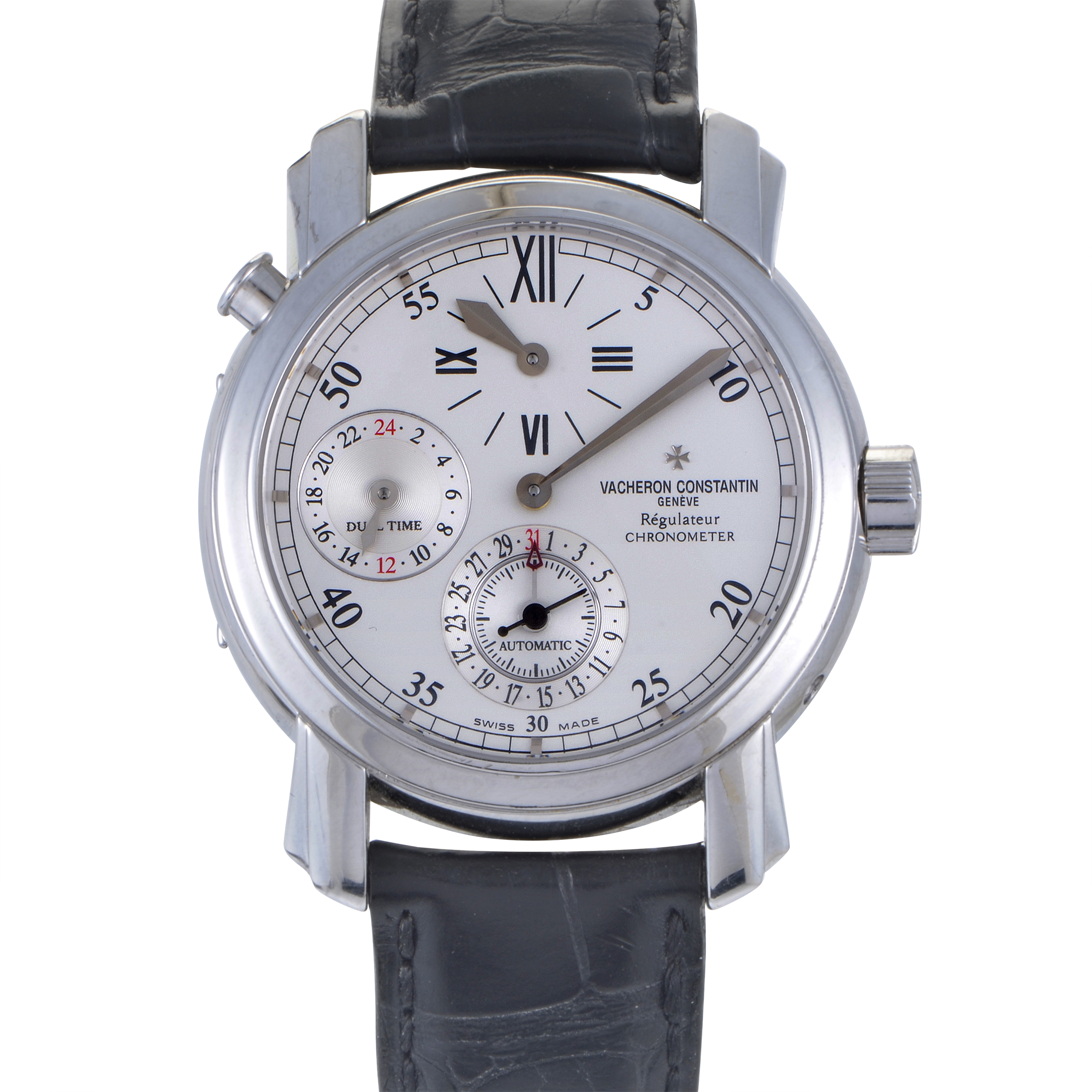 Malte Dual Time Regulator Watch 42005/000G-8900
