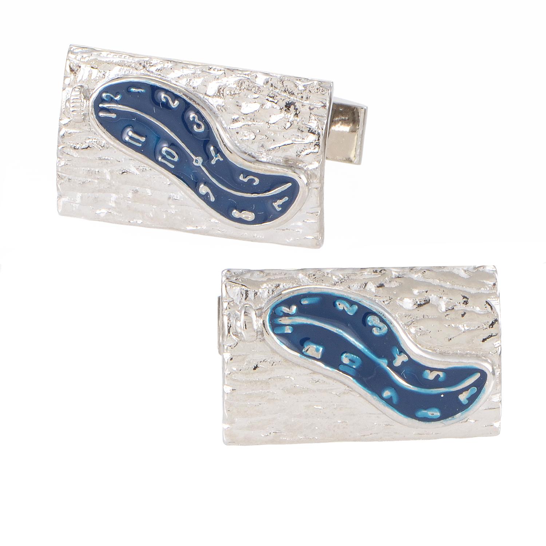 Men's Dali Blue Enamel Cufflinks 980C015