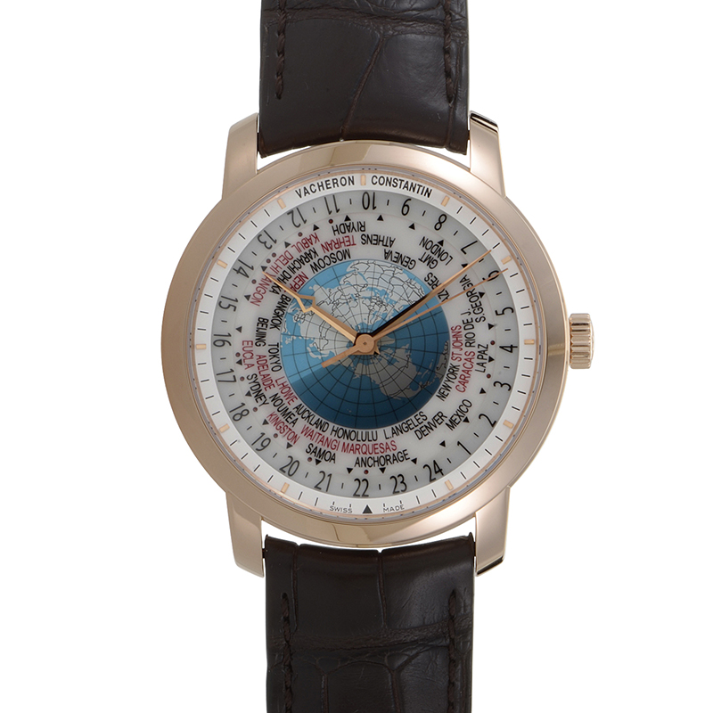 Patrimony Traditionnelle World Time 86060/000R-9640
