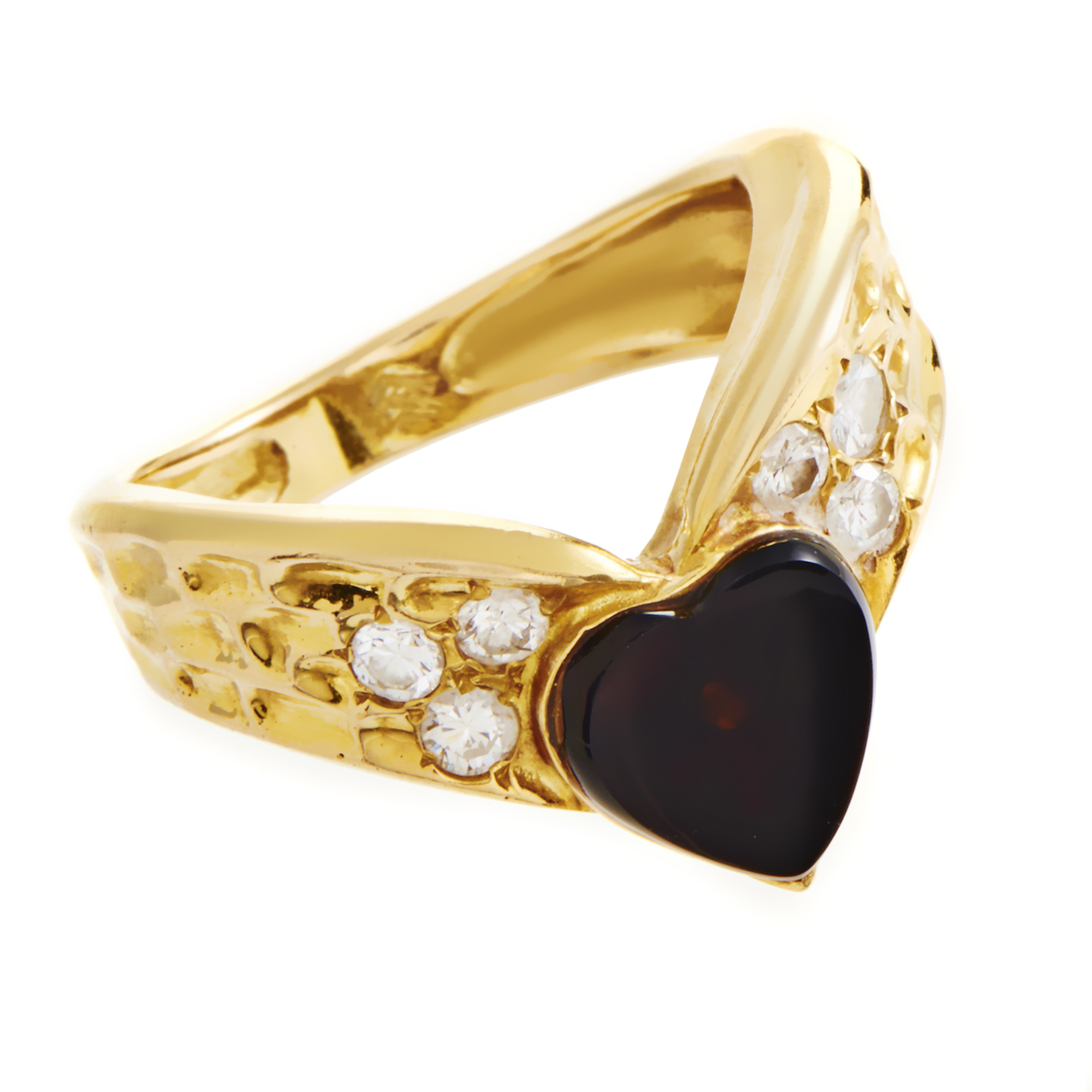 Van Cleef & Arpels Women's 18K Yellow Gold Diamond Band Ring