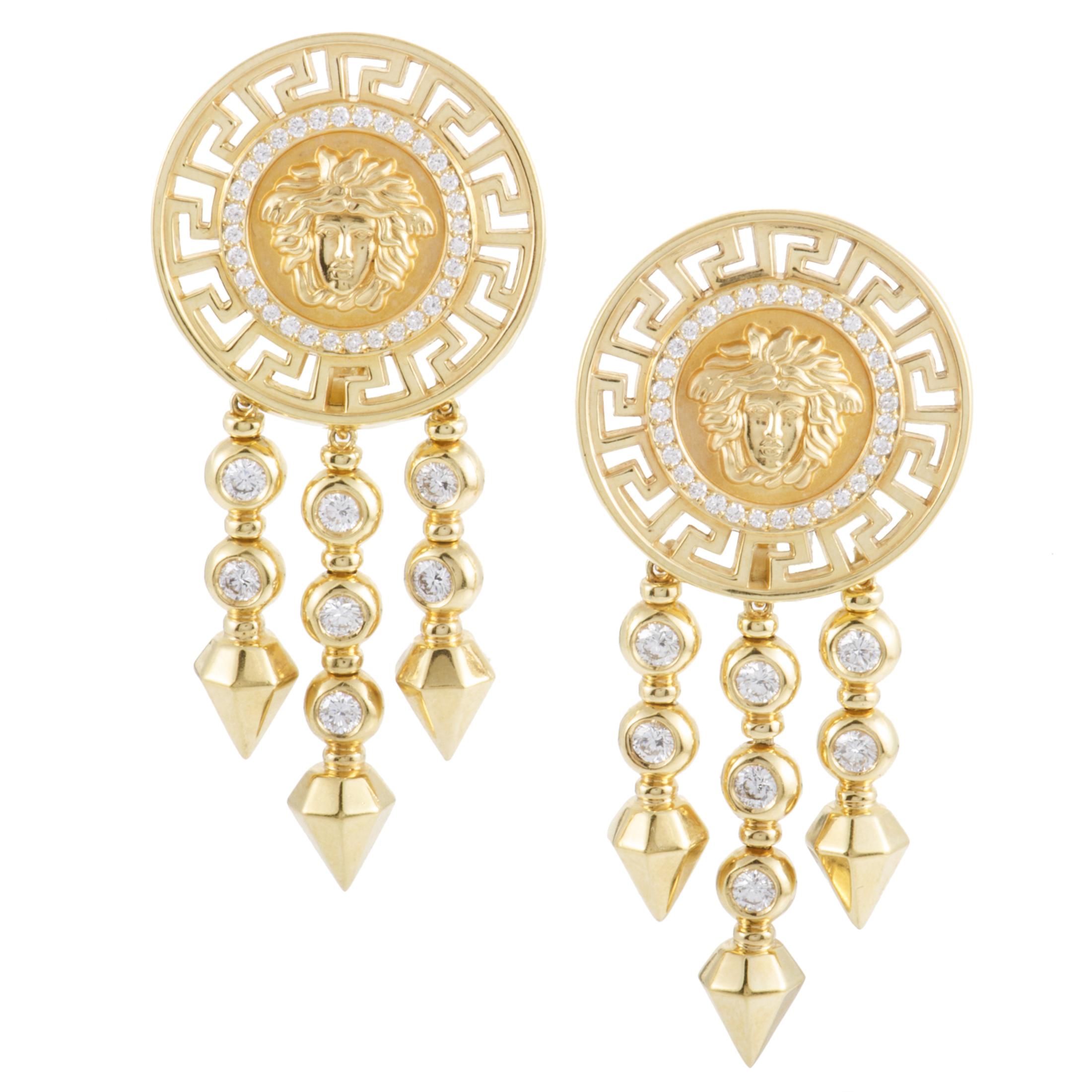 Unique Versace Earrings Womens  Earrings Ideas
