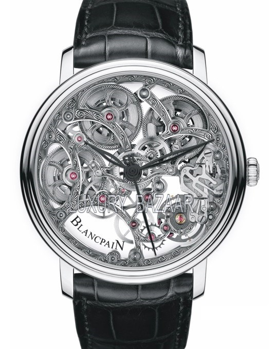 Villeret 8 Day Skeleton 6633-1500-55B