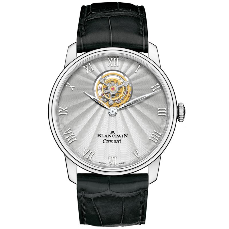Villeret Carrousel Volant Une Minute 66228-3442-55B (Platinum)