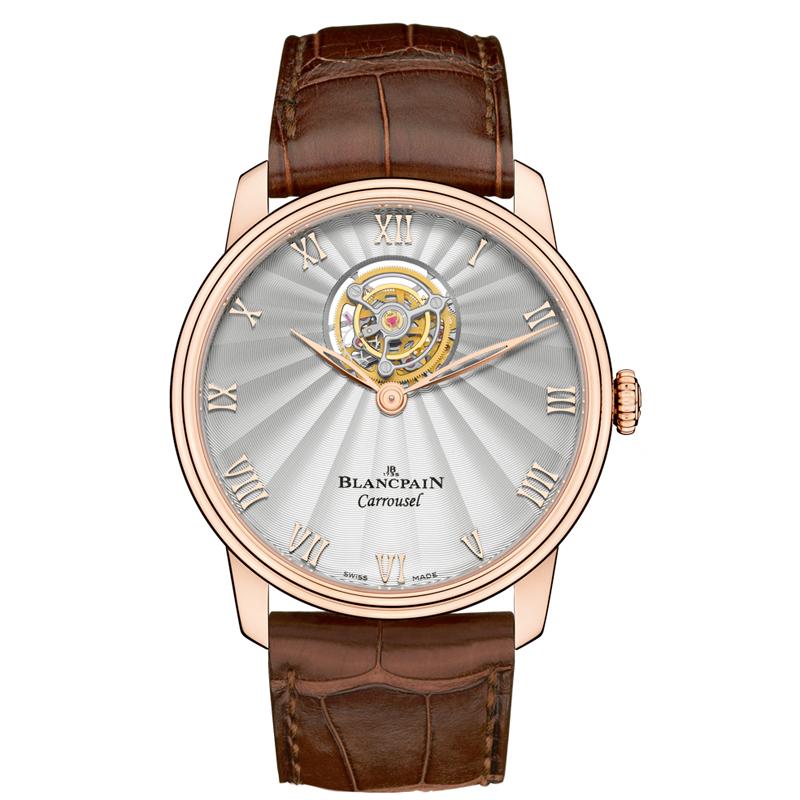 Villeret Carrousel Volant Une Minute 66228-3642-55B (Rose Gold)