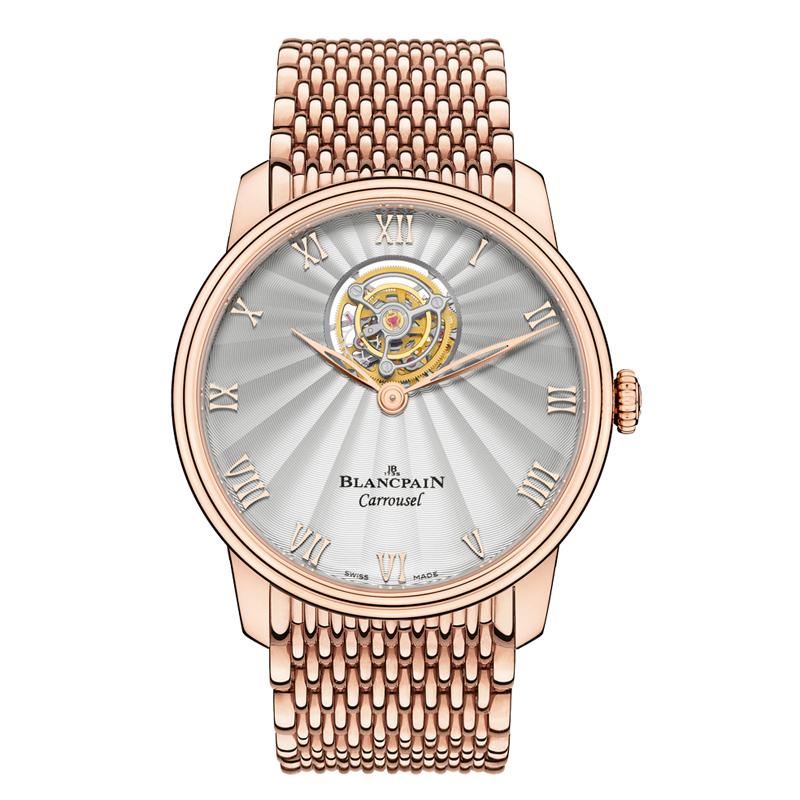 Villeret Carrousel Volant Une Minute 66228-3642-MMB (Rose Gold)