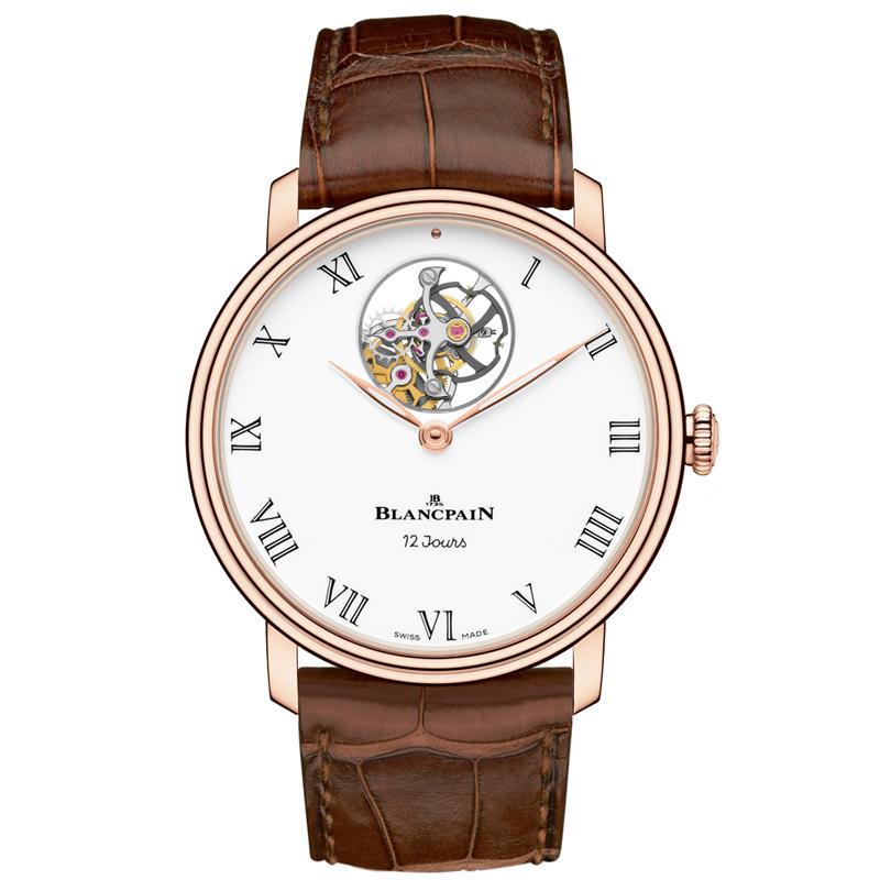 Villeret Tourbillon Volant Une Minute 12 Jours 66240-3631-55B (Rose Gold)