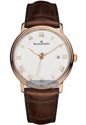 Villeret Ultra Slim Seconds and Date Automatic 6651-3642-55B