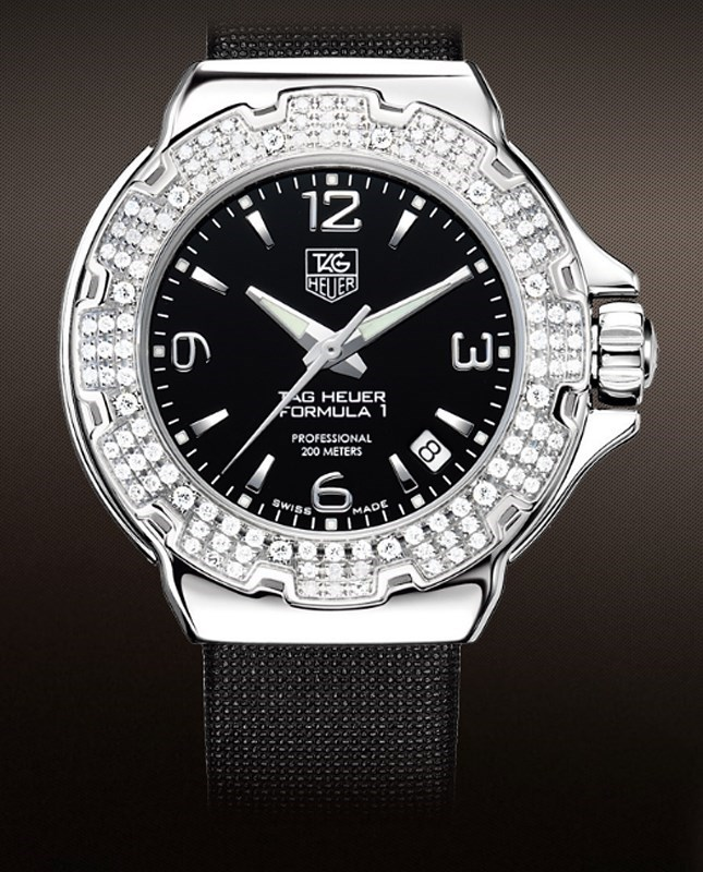 Formula 1 Ladies Diamond Bezel WAC1214.FC6218