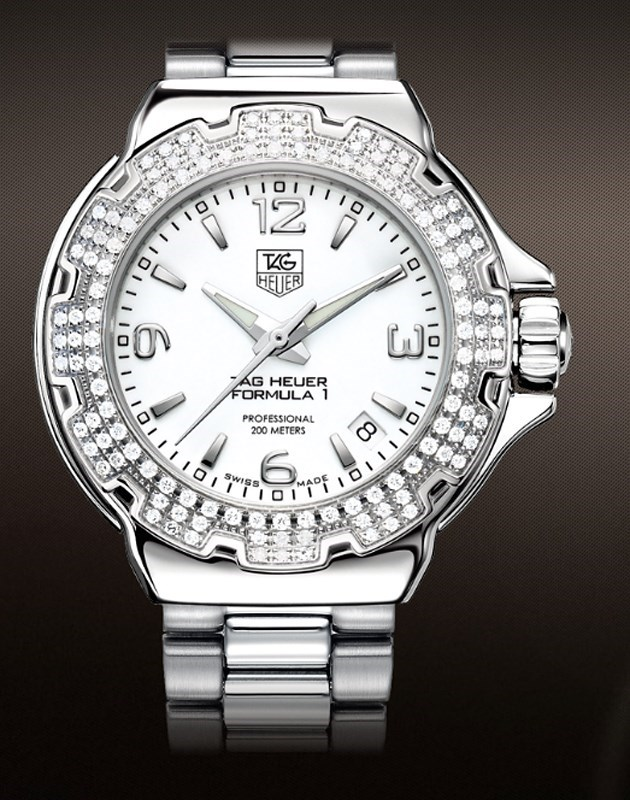 Formula 1 Ladies Diamond Bezel WAC1215.BA0852
