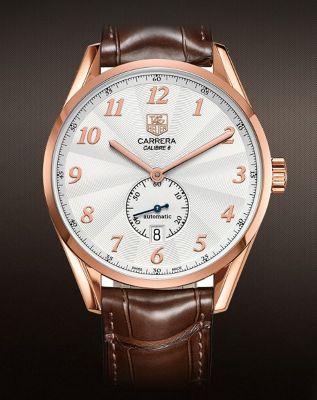 Carrera Caliber 6 Heritage Automatic WAS2140.FC8176