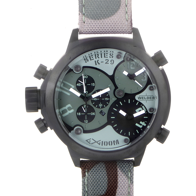 Triple Time Zone Chronograph Men's Watch K29-8004