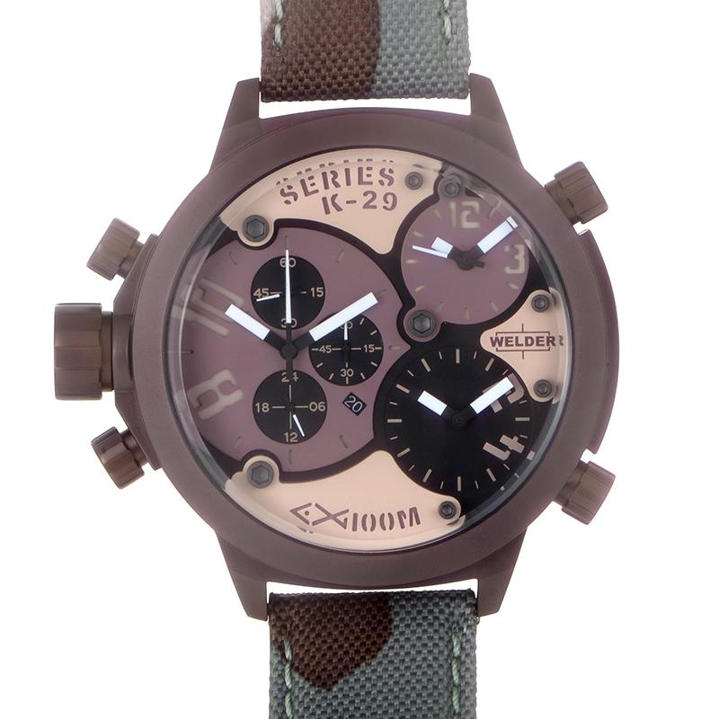 Triple Time Zone Chronograph Men's Watch K29-8005