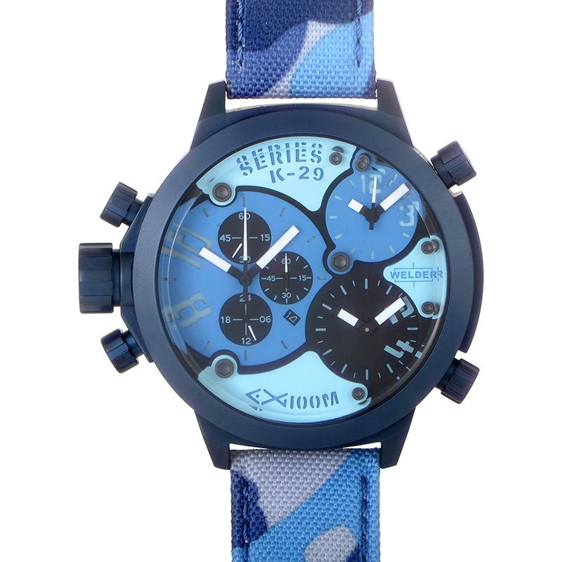 Triple Time Zone Chronograph Men's Watch K29-8006