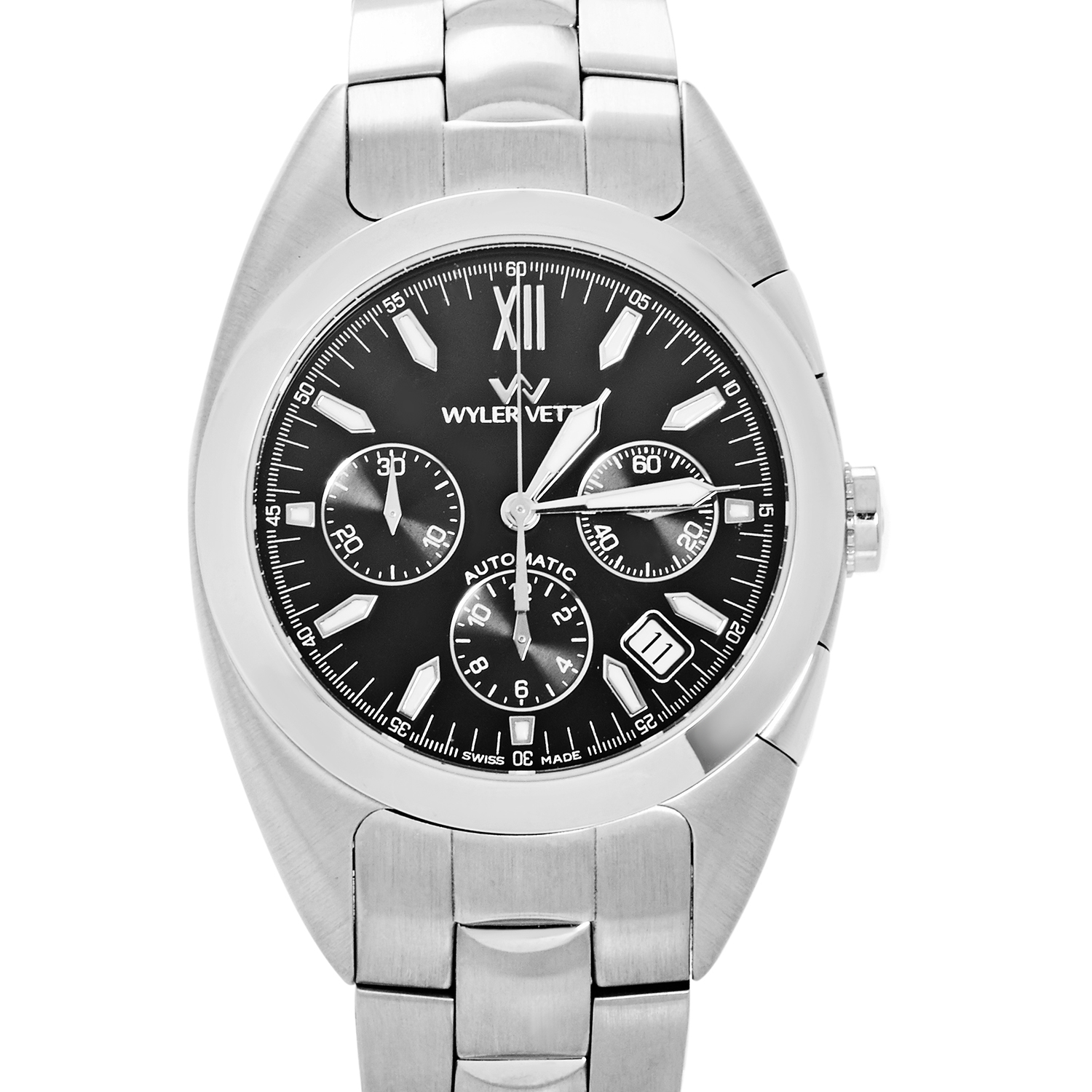 Men's Stainless Steel Automatic Chronograph Watch 8116770352