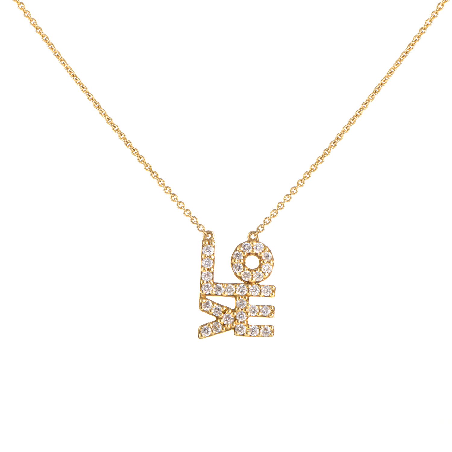 Women's 18K Yellow Gold Diamond