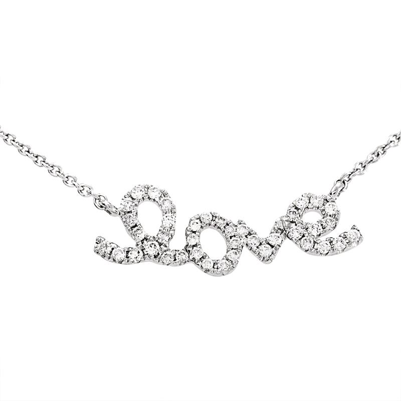 Women's 18K White Gold Diamond
