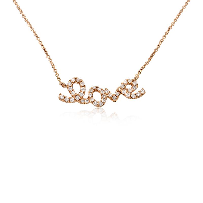 Women's 18K Rose Gold Diamond