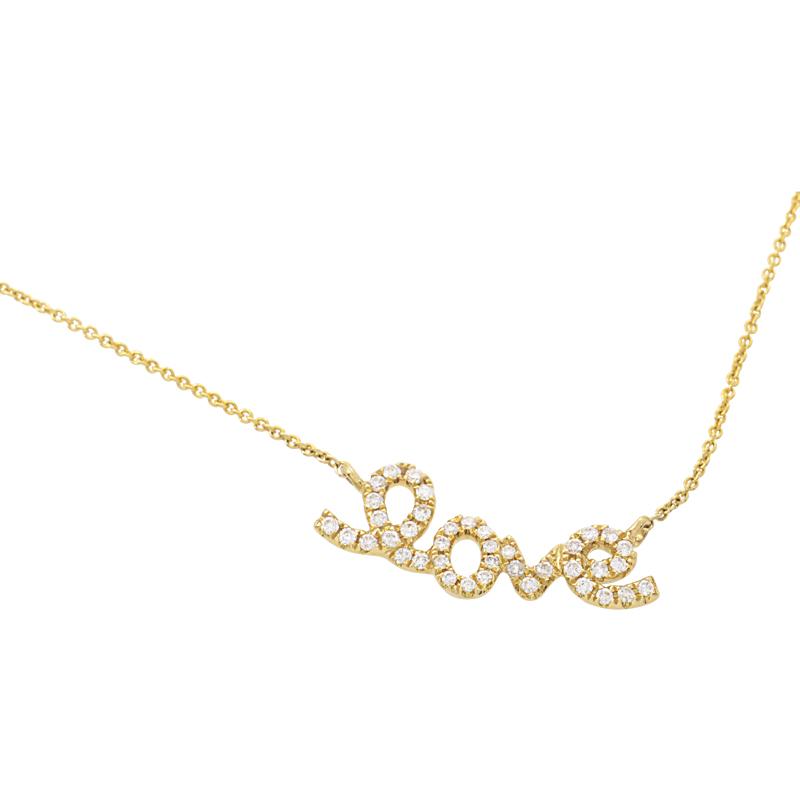 Women's 18K Yellow Gold Diamond