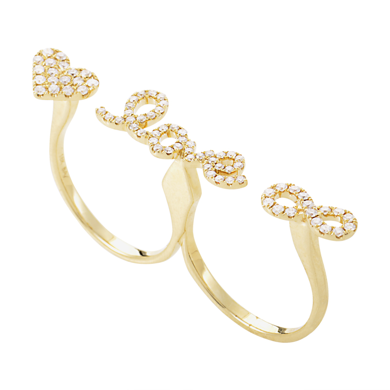 18K Yellow Gold & Diamond