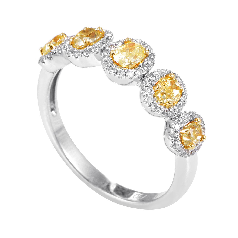 Women's 18K Multi-Tone Gold & Diamond Ring KO4344RCB/ZZMD