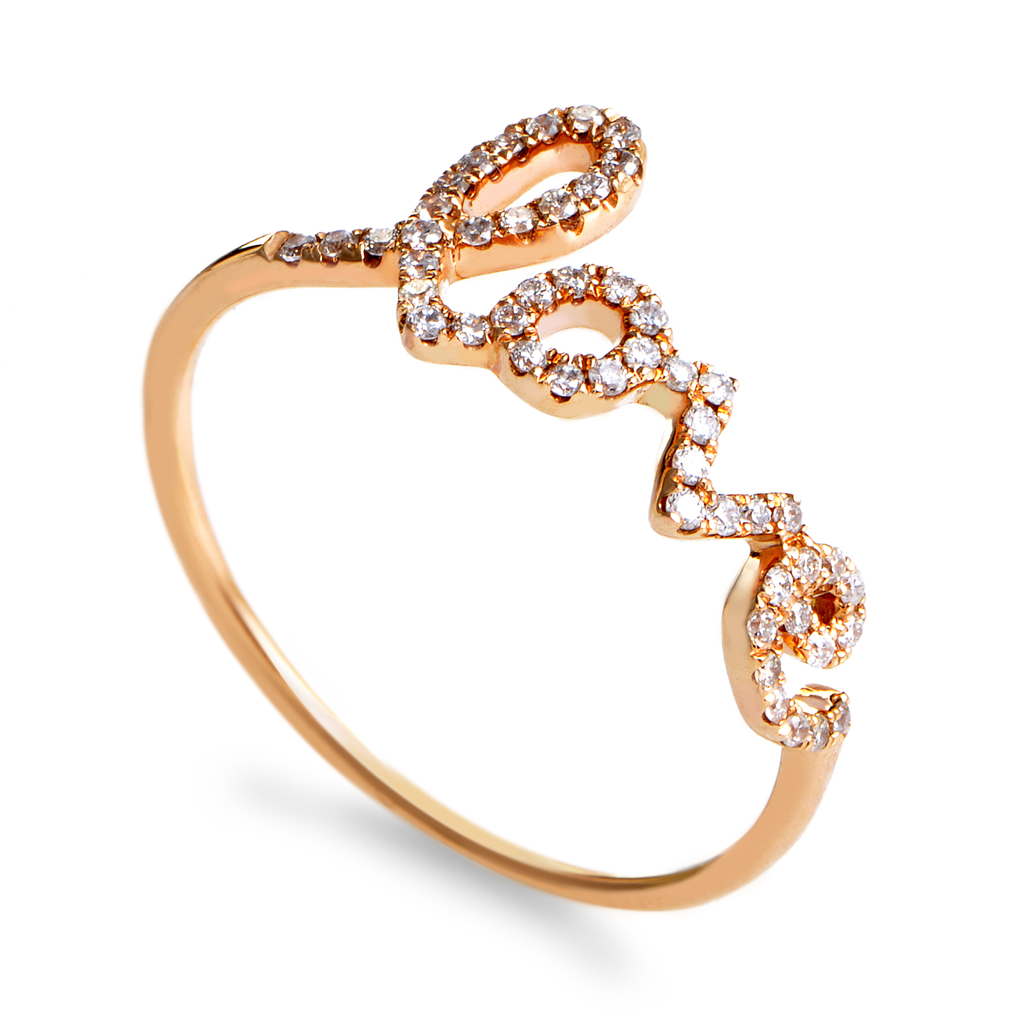 Women's 18K Rose Gold Diamond