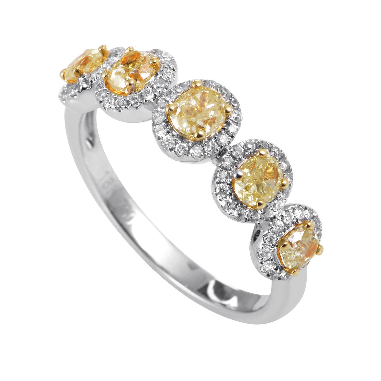 Women's 18K Multi-Tone Gold & Diamond Ring KO6344RCBZLG
