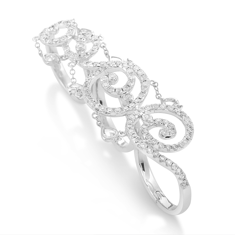18k Gold Diamond Ring Price Rings 18k White Gold Diamond