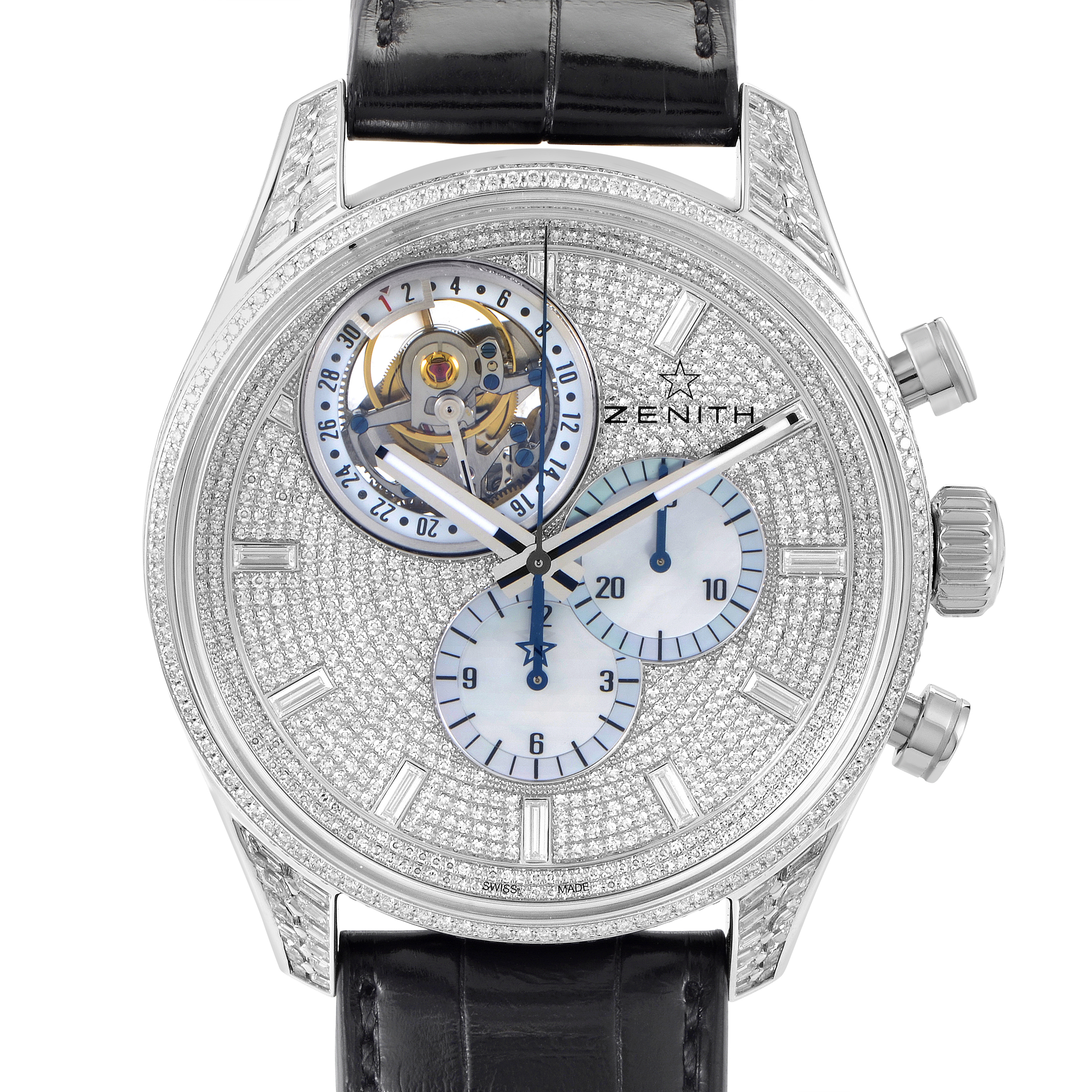 El Primero Tourbillon Men's Automatic Watch 45.2050.4035/09.C714
