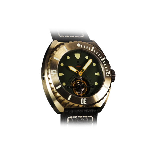 Zhuke Green Tourbillon BG3821BBBBG
