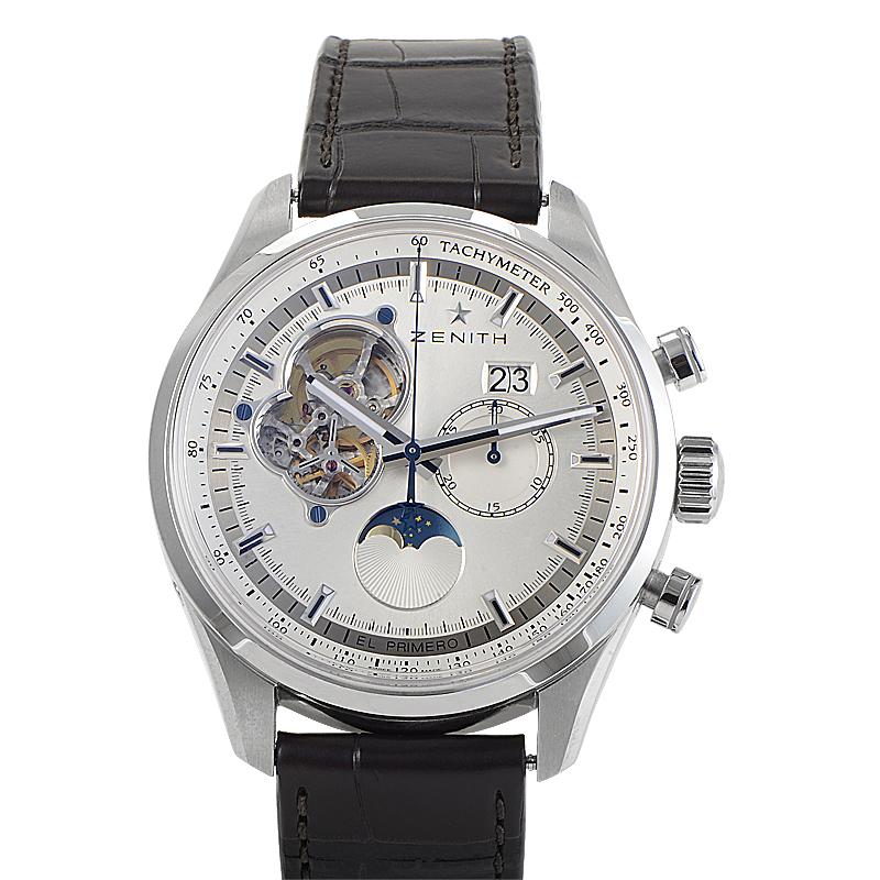 El Primero Grande Date Moonphase Watch 03.2160.4047-01.C713