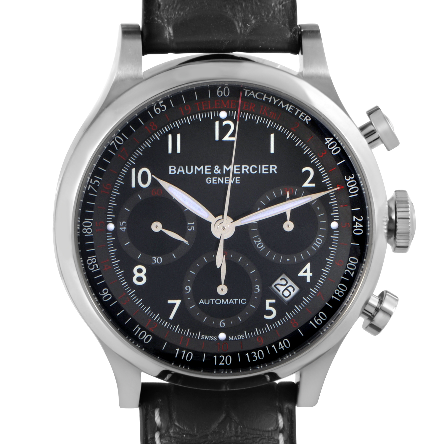 Capeland Mens Stainless Steel Automatic Chronograph Watch MOA10084