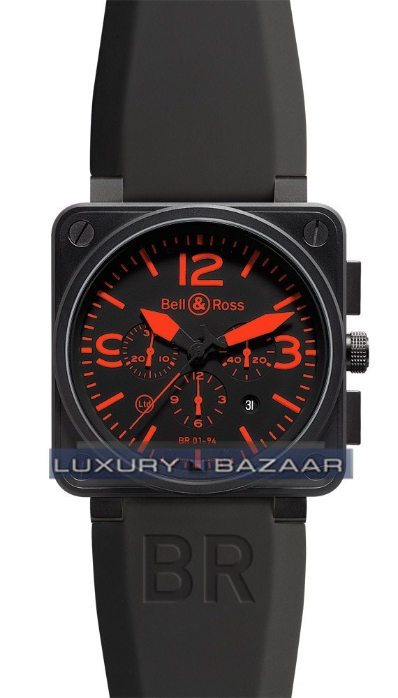 BR01-94 Chronograph Carbon Red