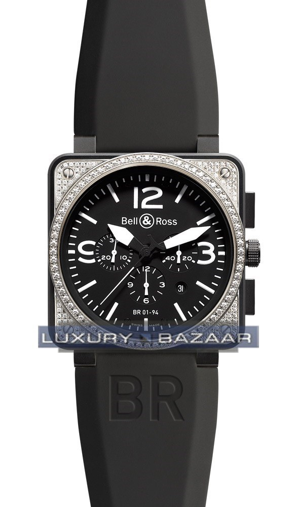 BR01-94 Chronograph Carbon Diamond