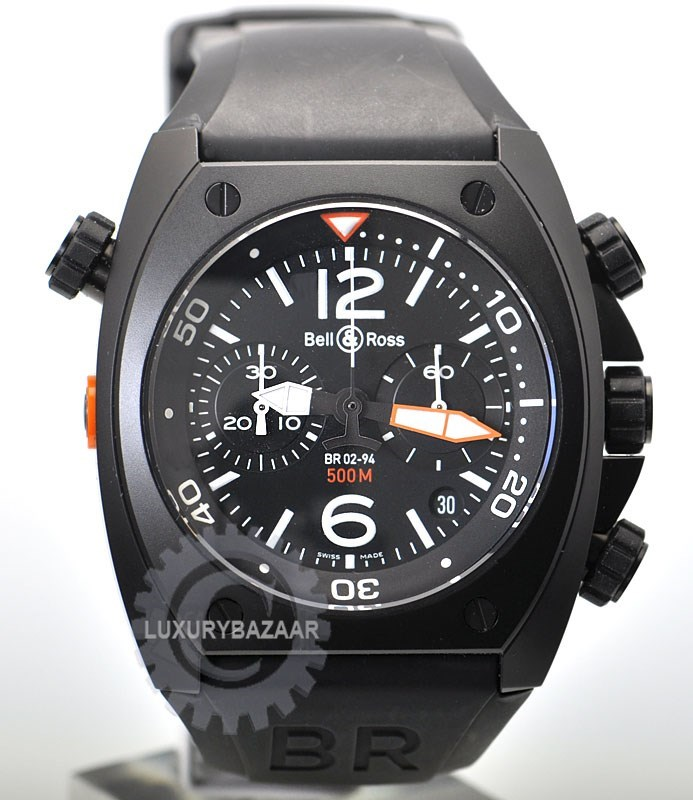 BR Instrument BR 02 Chronograph BR 02 94 CRBN