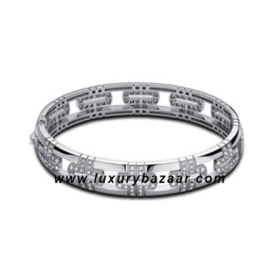 PARENTESI Demi Pave Diamond White Gold Bracelet