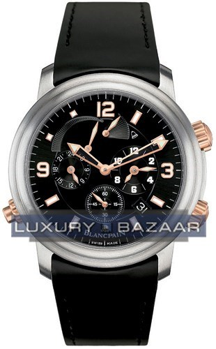 Leman GMT Alarm (Ti-RG / Black / Rubber)