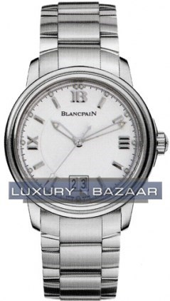 Leman Ultra Slim Automatic Big Date (SS / Silver / SS)