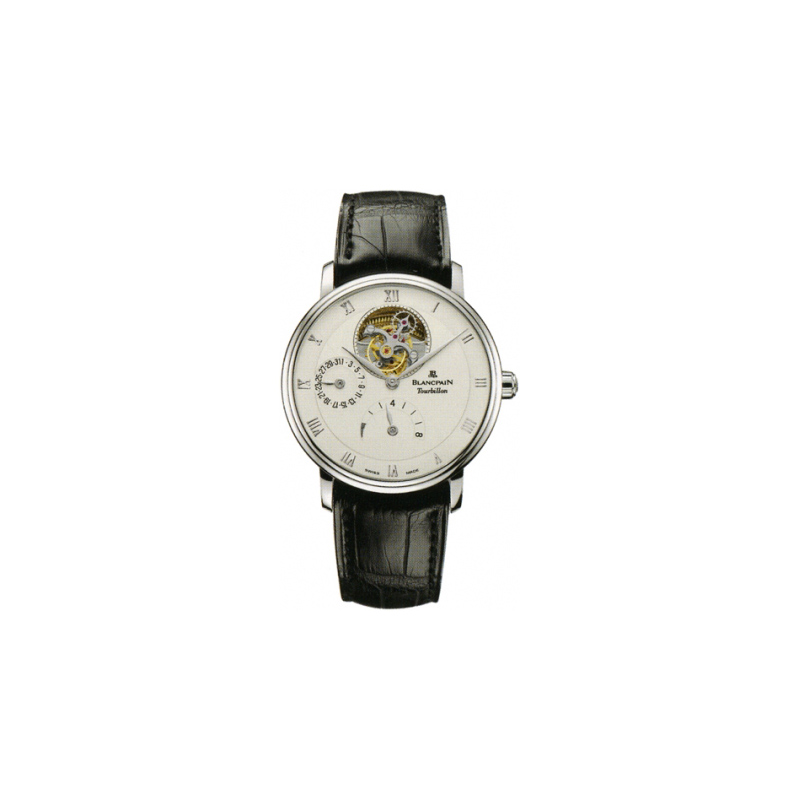 Villeret Tourbillon 8 Day Power Reserve 6025-3442-55B