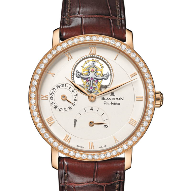 Villeret Tourbillon 8 Day Power Reserve 6025-2942-55B