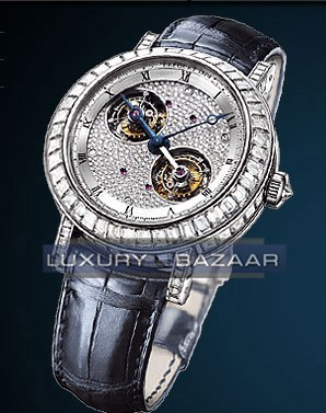 Classique Double Tourbillon (Platinum / Diamonds)