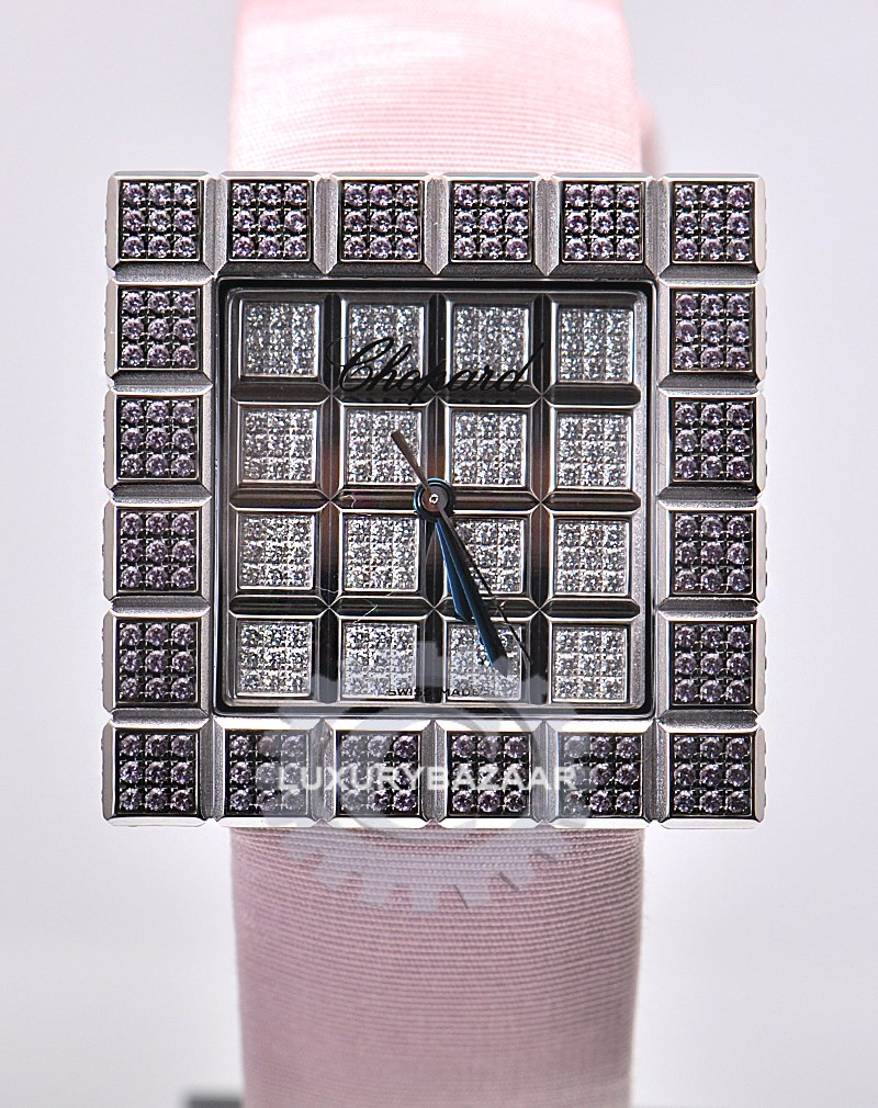 Ladies Ice Cube Watch Pink 136858-1020