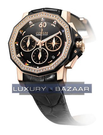 Admirals Cup Chronograph 40 Diamonds 984.970.85/0081 PN13